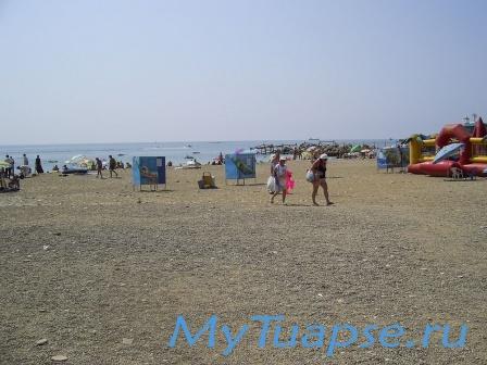 Пляж в Туапсе 11