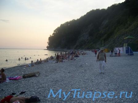 Пляж в Туапсе 2