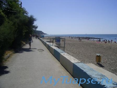 Пляж в Туапсе 4