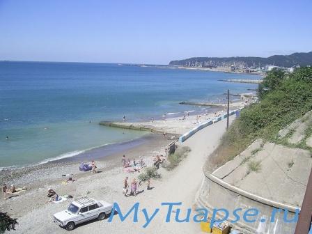 Пляж в Туапсе 5