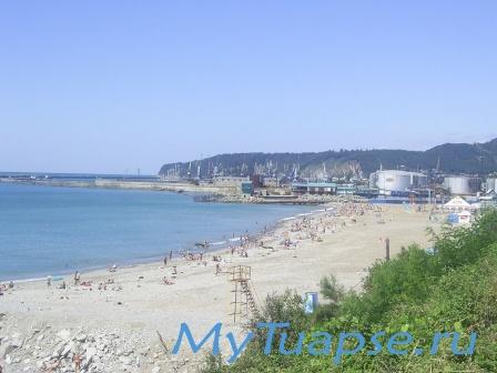 Пляж в Туапсе 7