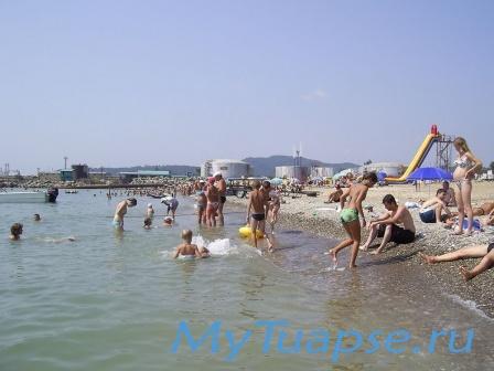 Пляж в Туапсе 16