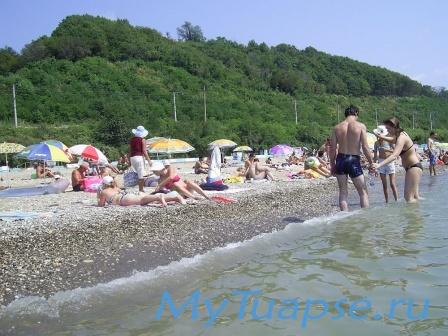 Пляж в Туапсе 17