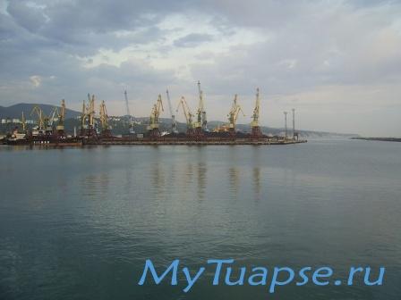 Туапсинский порт 4