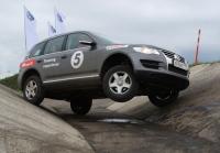 В Орленке Volkswagen представляет программу обучения внедорожному вождению автомобиля